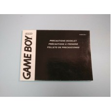 Genuine Nintendo GAME BOY Precautions Booklet