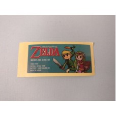 NEW Nintendo Game Boy DMG Play It Loud Zelda Sticker Label FAST SHIP