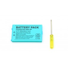 New GBA SP Rechargeable Battery - 850mAh